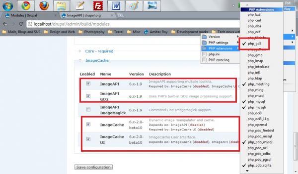 WAMP settings for Drupal