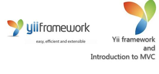 Web app in Yii framework